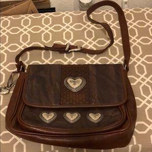 Vintage boho crossbody bag
